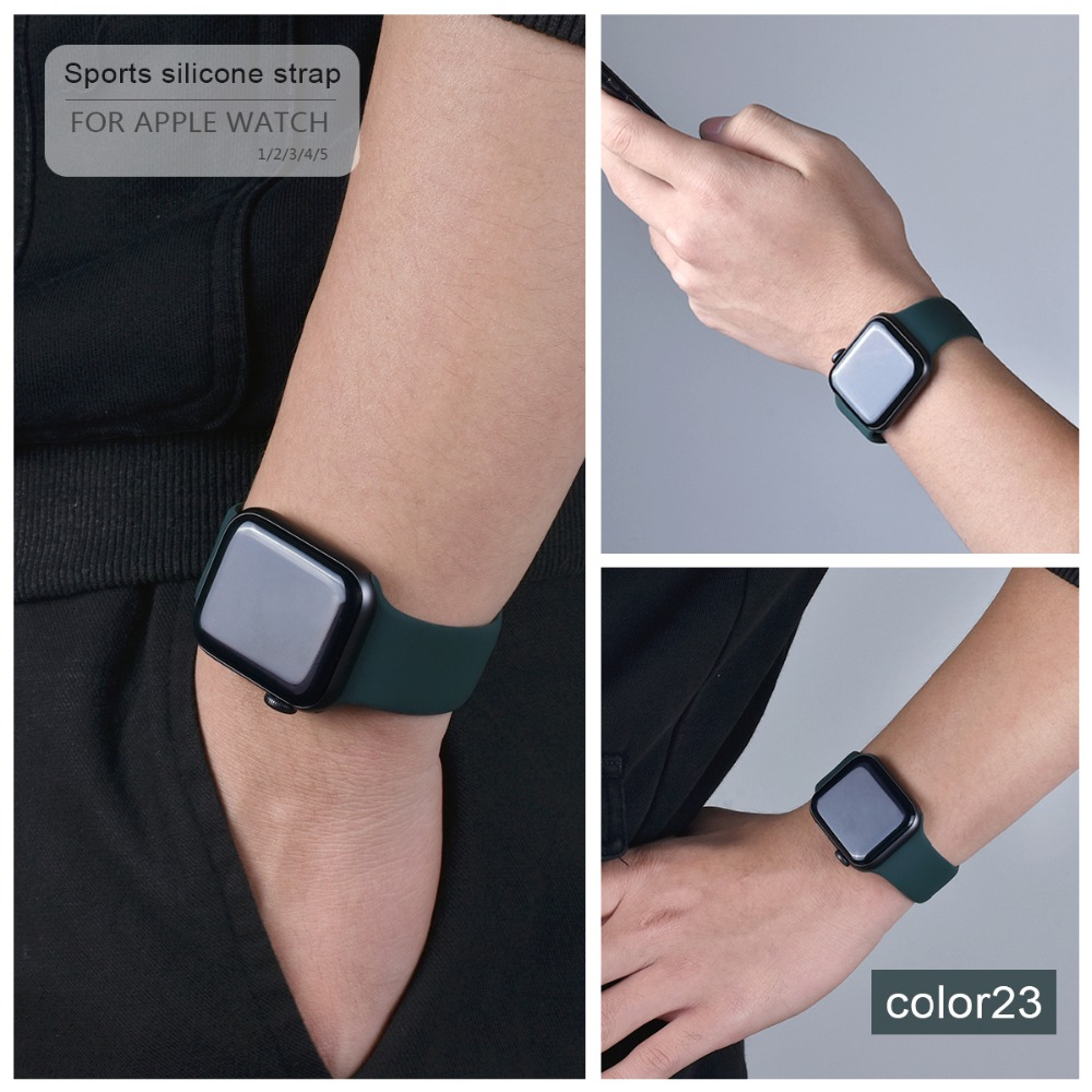 Soft Silicone Band for Apple Watch 122