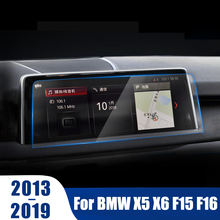 Accessories For BMW X5 X6 F15 F16 2013-2017 2018 2019 Car GPS Navigation Tempered Glass Screen Protector Steel Protective Film цена 2017
