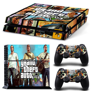 Image 5 - Multi Design For PS4 Vinyl Skin Sticker Cover For PS4 Playstation 4 Console + 2 Controller Decal Game Accessories