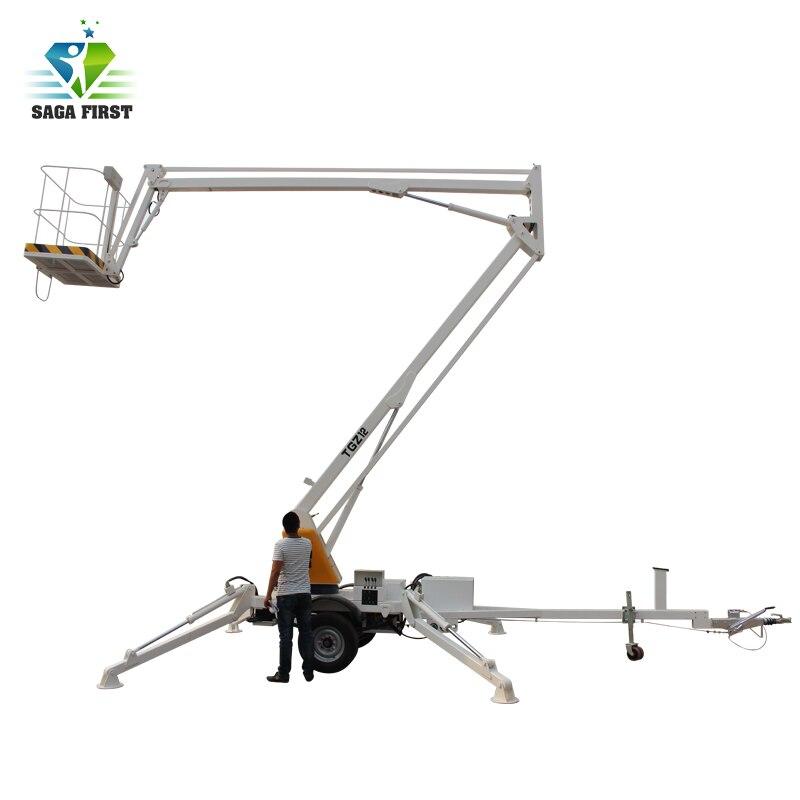 Building Constructions Mobile Lift Platform Articulating Boom Lifts