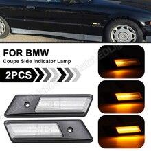 ضوء وامض ديناميكي LED ، ضوء وامض لسيارات BMW 3 Series E36 ، 1992 ، 1993 ، 1994 ، 1995 ، 1996 ، 2 قطعة