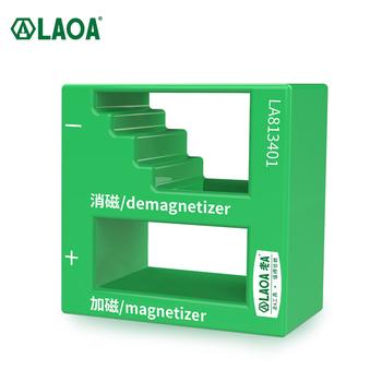 Wkrętak do demagnetyzera LAOA Plus urządzenie magnetyczne dwufunkcyjny magnetyzer do rozmagnesowania śrubokrętów tanie i dobre opinie CN (pochodzenie) Mini Wielofunkcyjny ANTYPOŚLIZGOWY STAINLESS STEEL LA813401 50MM Kwadratowy łeb Poniżej 5 Sztuk Mini śrubokręt