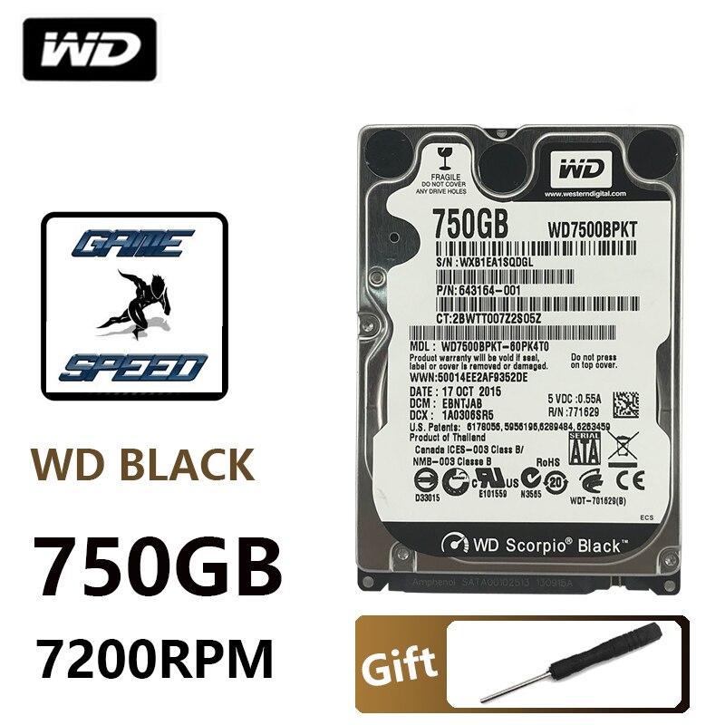"NEW 750G 750GB 2.5/"" 5400RPM HDD SATA Laptop Hard Drives HDD"