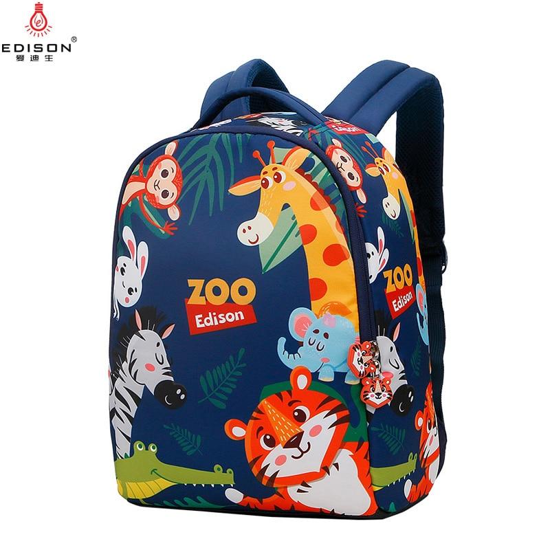 Edison 2020 New 3D Animal Children Backpacks Anti-lost...