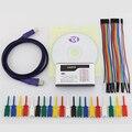 Usb логический анализатор 16 каналов 200 м анализатор скорости образца 10B образцы MCU ARM FPGA инструмент для отладки английское программное обеспеч...