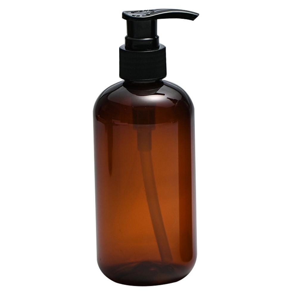 250/500ml Clear Press Pump Empty Bottle Refillable Shampoo Lotion Liquid Soap Dispenser Container