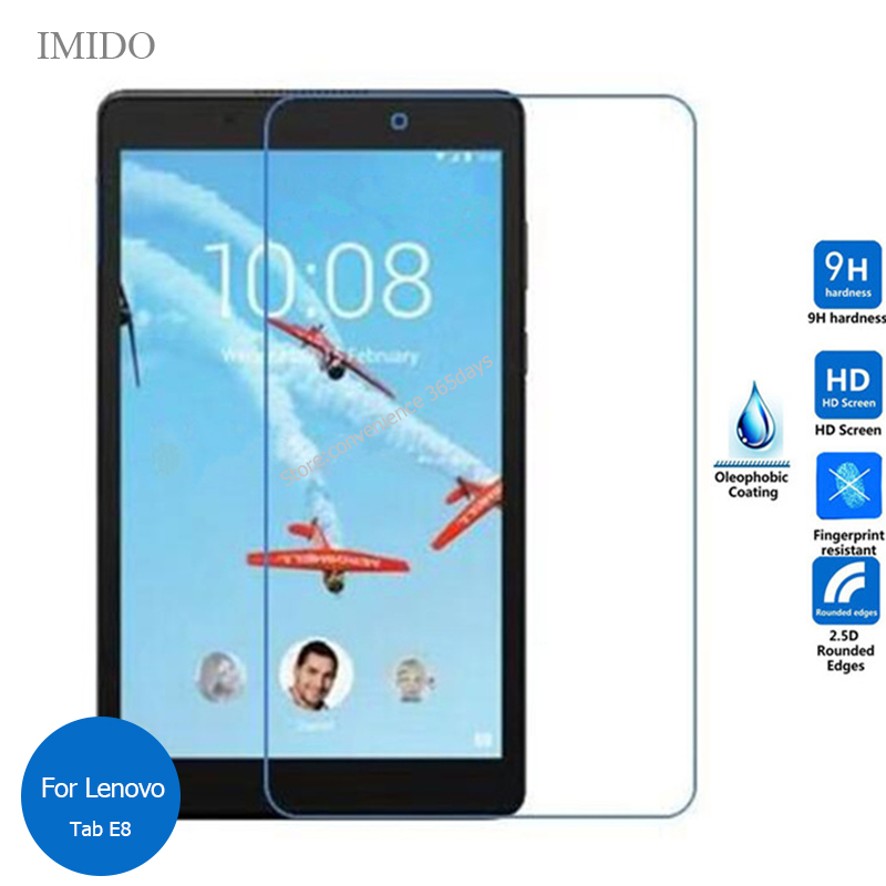 For <font><b>Lenovo</b></font> Tab E8 <font><b>TB</b></font>-8304F Tempered Glass Screen Protector 9h Safety Protective Film on Tab 8 E 8 Tab8 8.0 <font><b>TB</b></font>-<font><b>8304F1</b></font> <font><b>TB</b></font> 8304F image