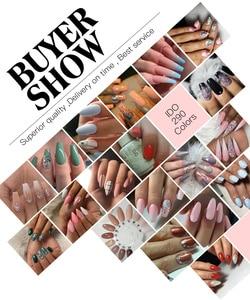 Image 3 - 100pcs uv gel nail Soak Off lDO  Gel Polish For free shipping Gorgeous 290 colors gel nails
