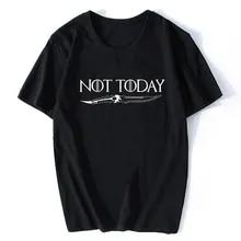 Game OF Thrones T-Shirt Arya Stark Not Today Men Women Unisex Tshirt M210