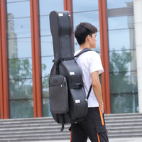 Guitar Case Box Carry bags Double Shoulder Straps Harness Strap For Guitar Parts