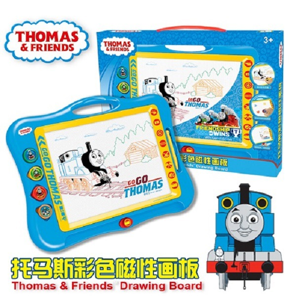 Thomas Children Color Magnetic Drawing Board Large Size Educational Small Blackboard Baby Drawing Board WordPad Doodle Board
