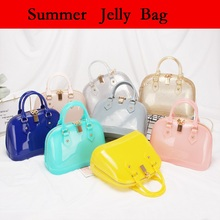 Summer Sweet Candy Silicone Jelly Handbags Purse Women Casual Tote Bags Ladies Crossbody Shoulder Beach Bags Girls Female Bolsos
