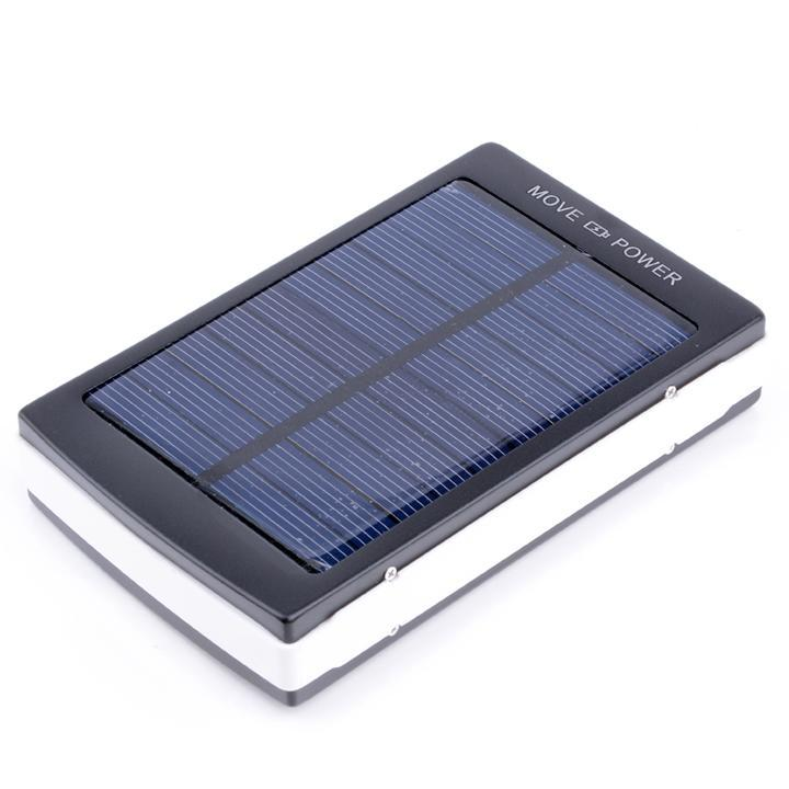 Solar Power 30000 MAh Solar Charger Dual USB Power Bank Blacak Battery Charger For Phone Travel Use Powerbank Convenient Outdoor