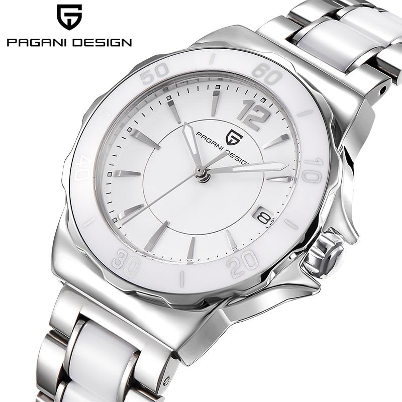 PAGANI DESIGN Women s Watches High Quality Ceramic Bracelet Women Watch Famous Luxury Brand Fashion Sport Clock Relogio Feminino