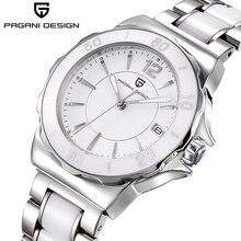 PAGANI DESIGN Women's Watches High Quality Ceramic