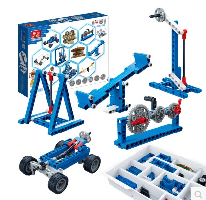 BanBao Assembled Building Blocks Primary And Popularization of Science Education Science And Technology Machinery Group 6918 Pri