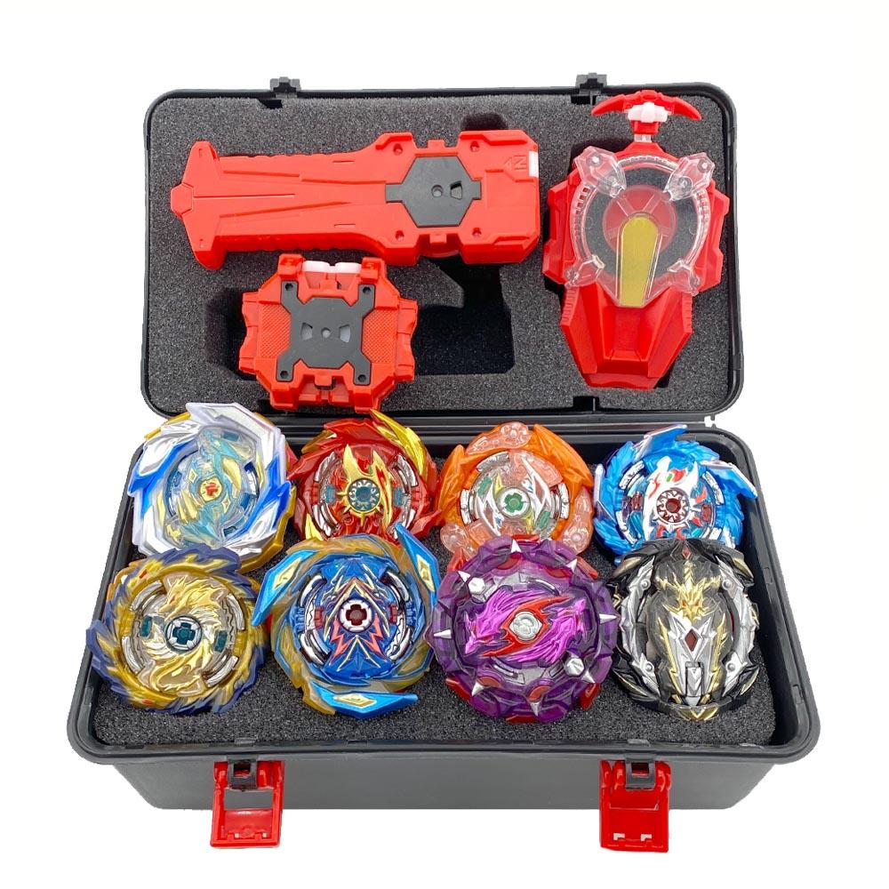 Hot DealsToy Beyblade-Toys Launchers Burst Sparking Toupie Metal Bables God Set 4862310 Tops-Set