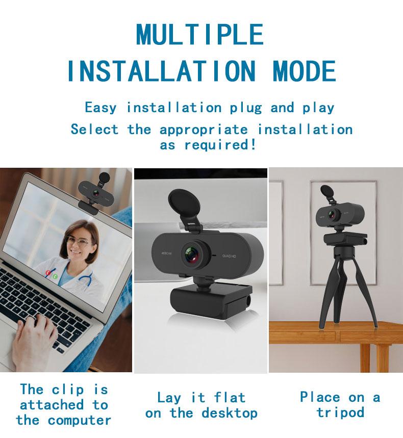 microfone usb plug vídeo webcam para computador