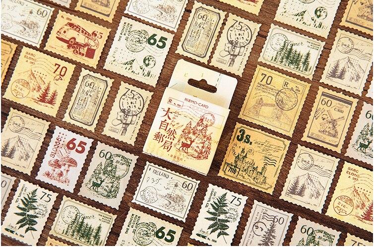 Natural Place Diy Decorative Sticker(1pack=45pieces)