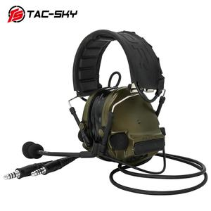Image 4 - COMTAC TAC SKY  comtac iii silicone earmuffs dual pass version noise reduction pickup military shooting tactical headsetFG