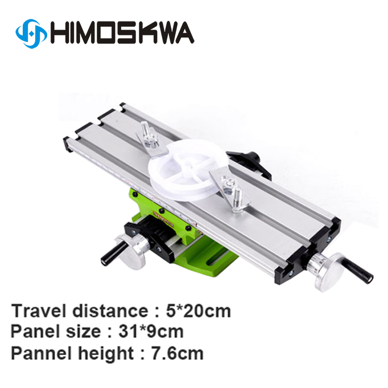 6300 Mini Micro Multi-function Cross Table Slide Table Drilling Machine Milling Machine Electric Drill Bracket Bench Drill