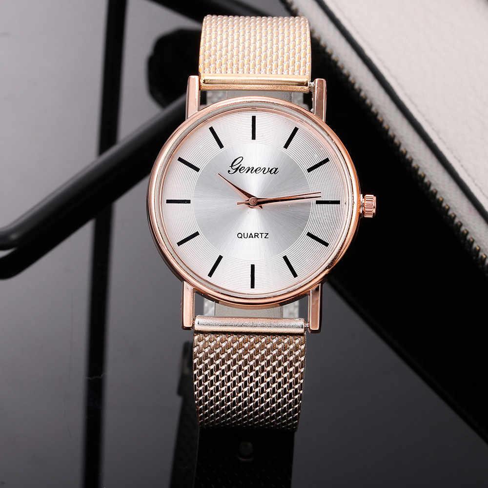 Sıcak satış cenevre kadın rahat silikon kayış quartz saat üst marka kızlar bilezik saat kol saati kadınlar Relogio Feminino @ F