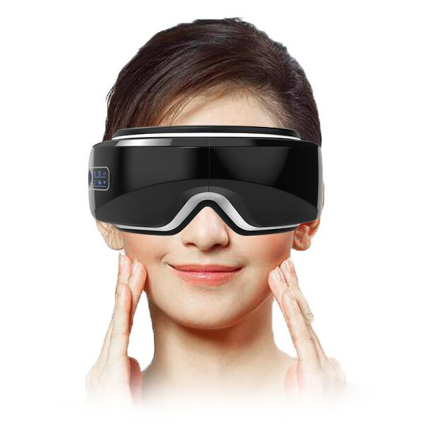 vibracao eletrica bluetooth olho massageador dispositivo de cuidados com os olhos rugas fadiga aliviar oculos instrumento