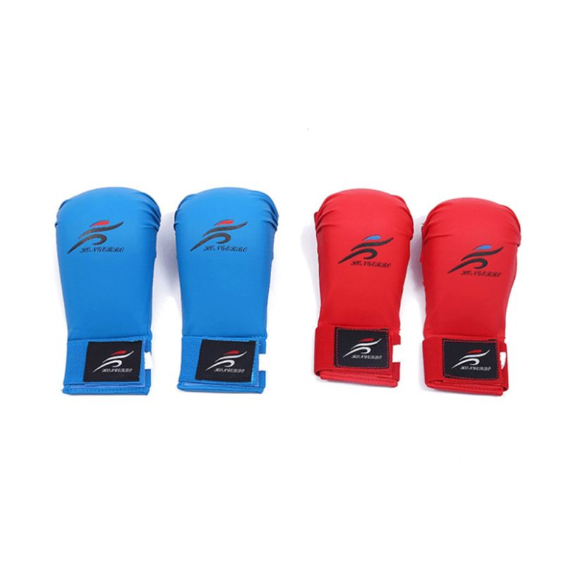 1 Pair Boxing Gloves Set  EVA Suit Leg Shin Guard Hand Palm Foot Protector Bands Karate For Adult/Child