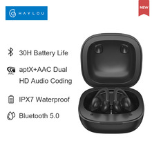 Haylou T17 Relaxing Running Bluetooth Sport Earphones, Aptx+AAC Dual HD Audio Coding,App Pop-up Animation,Wearing Detection