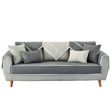 أربعة مواسم المتاحة غطاء أريكة الشمال النقي المضادة للانزلاق وسادة أريكة 1 قطعة غطاء أريكة سميكة لينة أريكة منشفة لغرفة المعيشة