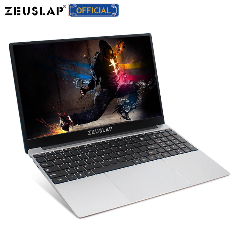 ZEUSLAP 15,6 zoll Intel Core i7 8GB Ram bis zu 1TB SSD 1920*1080P FHD Win10 dual Band WIFI Netbook i7 Laptop Notebook Computer