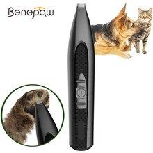 Benepaw безопасный мощный триммер для волос собаки Профессиональный Легкий эргономичный низкий уровень шума Электрический клипер для домашне...