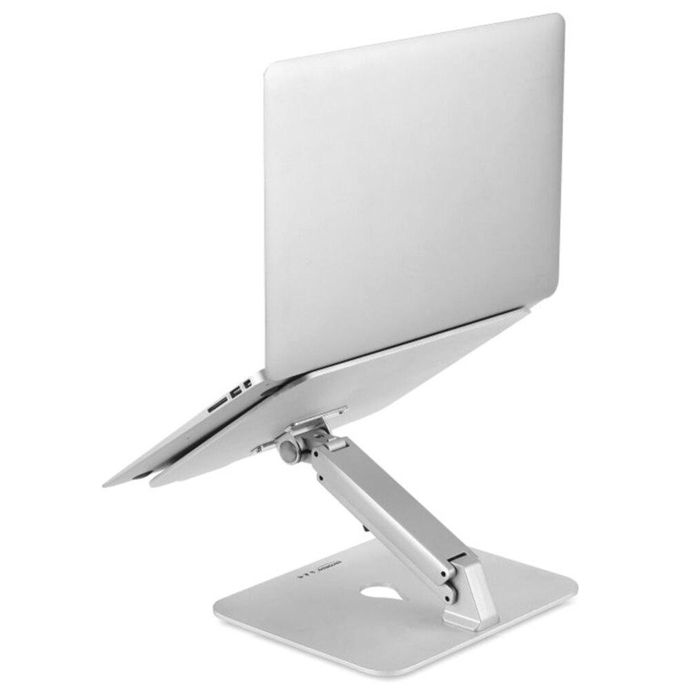 Регулируемый держатель для охлаждения ноутбука портативный алюминиевый стенд для ноутбука настольная Эргономика повышение для MacBook Air про Аксессуары