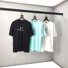 2021 Classic Logo design Tee Men Women Casual Kith T-shirts Inside Tag High Quality Tops Black/White fashion T-shirt B8