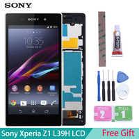 """5.0 """"dla SONY Z1 wyświetlacz L39h C6902 C6903 C6906 C6943 wyświetlacz LCD do SONY Xperia Z1 wyświetlacz LCD z ekranem dotykowym Digitizer"""