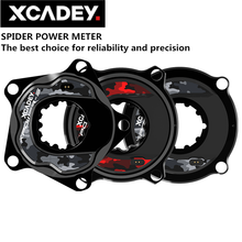 XCADEY XPOWER S ถนนจักรยานจักรยาน MTB Spider Power Meter สำหรับ SRAM โรเตอร์ RaceFce Crank Chainring 104BCD 110BCD ANT + บลูทูธ