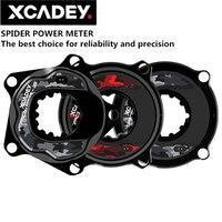 XCADEY XPOWER-S vélo de route vélo vtt araignée compteur de puissance pour SRAM ROTOR manivelle ronde ovale plateau 104BCD 110BCD ANT + Bluetooth
