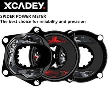 Xcadey pedaleira de bicicleta de estrada XPOWER S, medidor de energia aranha para sram rotor racefce 104bcd 110bcd ant com bluetooth