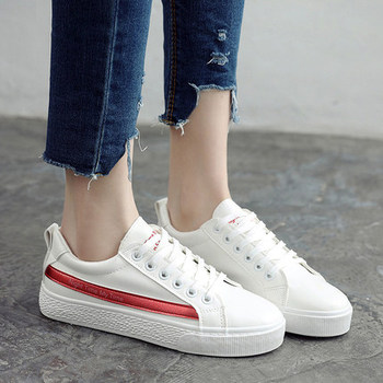 Canvas Shoes Flats White Color Flats Breathable For Woman