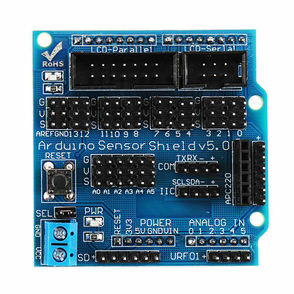 Sensor Board For Arduino Electronic Building Blocks Robot Accessories Sensor For Shield V5 Expansion Board