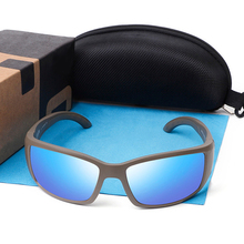 580P Blackfin Polarized Sunglasses Men Brand Design Vintage Square Driving Eyewear Sport Fishing Shades UV400 Gafas