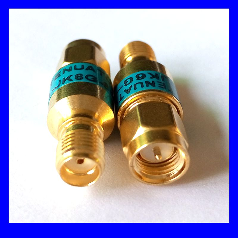 Бесплатная доставка Dc-6g SMA золото изолятор постоянного тока, блок, высокого качества!