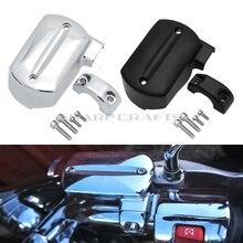 Alta qualidade motocicleta frente freio cilindro mestre reservatório capa para yamaha dragstar v star ds400 650 xvs400 650 1100