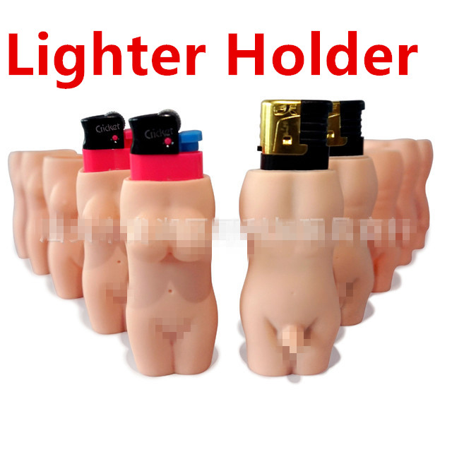 Lighter Holder Waterproof Lighter Smoking Accessories For Splitter Ligther Sex Men And Women Plastic Rubber Lighter Case