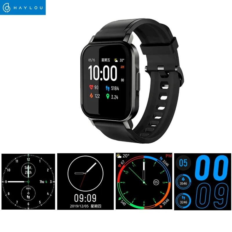 Haylou LS02 smart watch men woman IP68 waterproof men