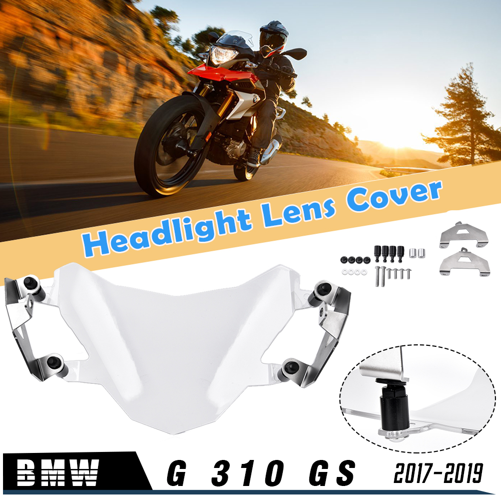 Motorcycle <font><b>G</b></font> 310GS Headlight Lamp Protector Cover Screen Lens Guards for <font><b>BMW</b></font> G310GS <font><b>G</b></font> <font><b>310</b></font> <font><b>GS</b></font> 2017 2018 2019 Headlight Shield image