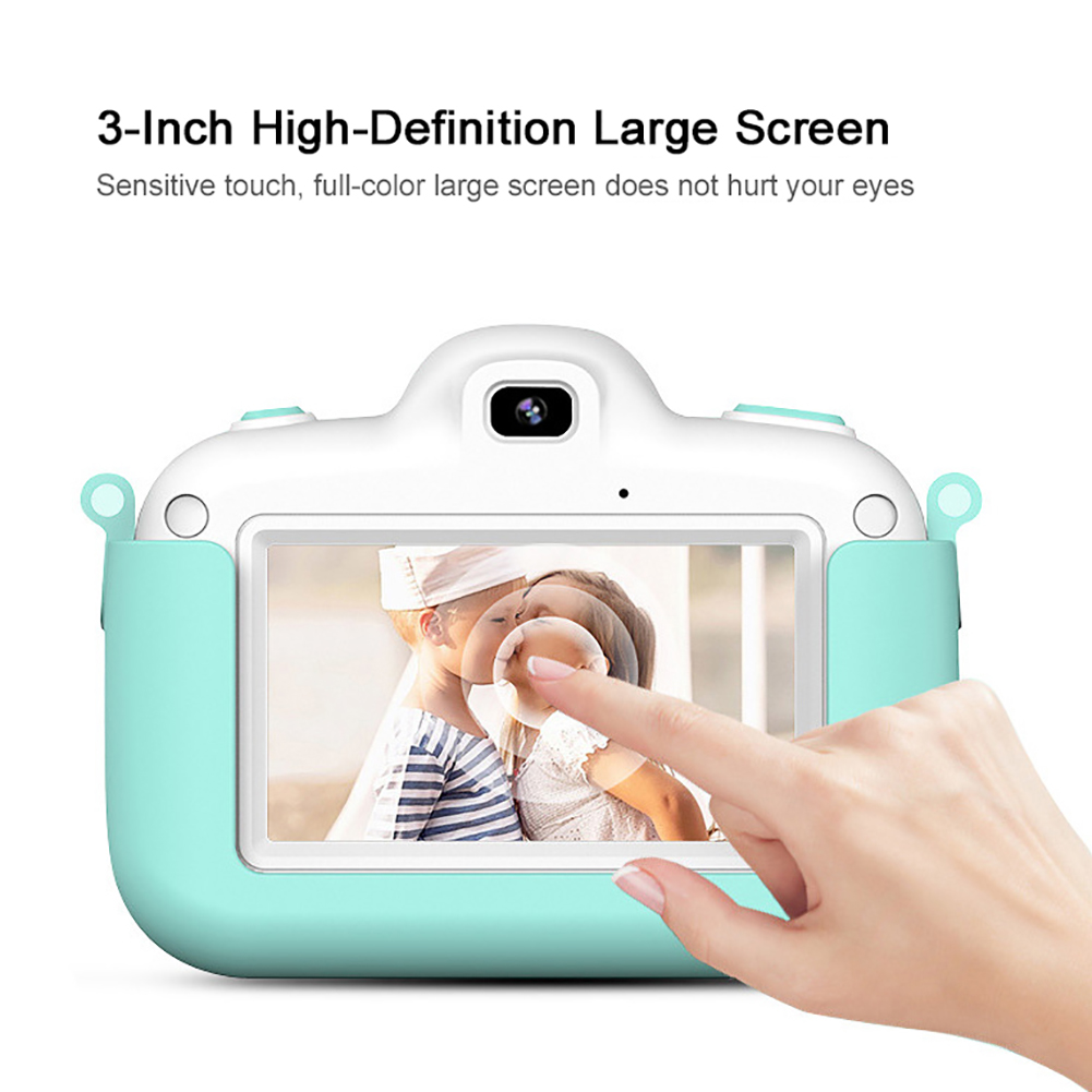 Touch Screen Kids Camera 3 inch Children Digital Camera Gift IPS screen For Kids Boy Girl 4K HD Video Camcorder Camera Toy Gift