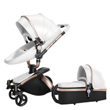 Free Shipping Luxury Baby Stroller 3 in 1 High land-scape Fashion Carriage Europ