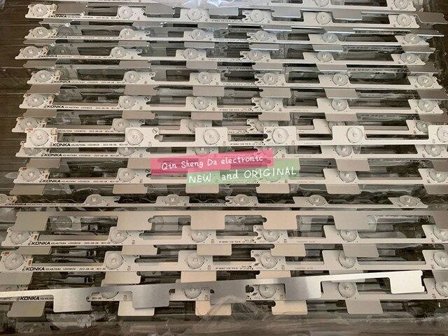 original new LED backlight bar strip for KONKA KDL48JT618A KDL48SS618U 35018539 35018540 6 LEDS(6V) 442mm  best
