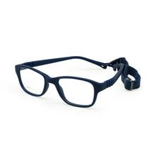 Montura de gafas para niño con correa tamaño 43/16 caja fuerte de Sin tornillo de una pieza, gafas ópticas para niños, gafas flexibles para niñas flexibles